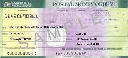 County of greenville sc money order example ccuart Image collections