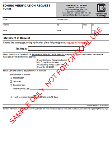 greenville sc property value tax records