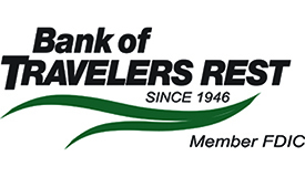 Bank of Travelers Rest Logo